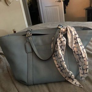 🌺Fabulous COACH East/West Gallery Leather Bag